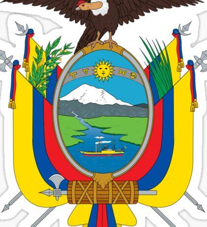 National Coat of Arms of Ecuador Sticker
