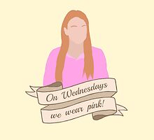 On Wednesdays We Wear Pink Hipster   Pale Yellow by Lucy Lier