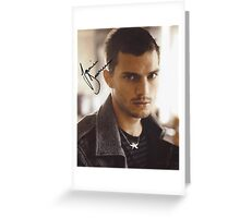 Young Jamie Dornan Greeting Card