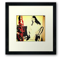 Kate Moss Super Model Framed Print