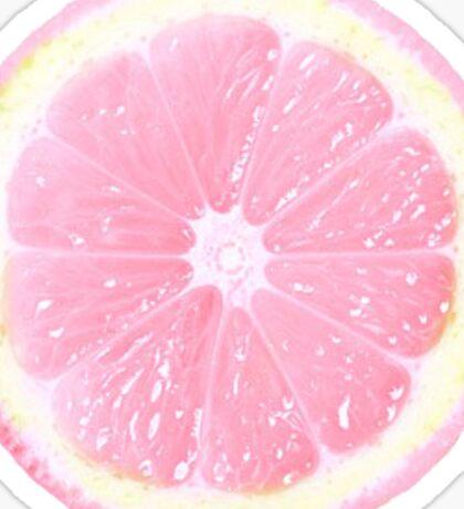 Pink Grape Fruit  Sticker