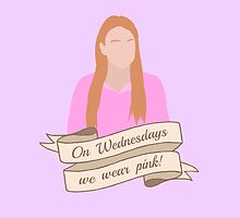 On Wednesdays We Wear Pink Hipster   Pale Purple by Lucy Lier