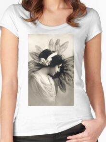 Vintage Beauty Women's Fitted Scoop T-Shirt