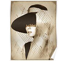 Audrey Hepburn Vintage Poster