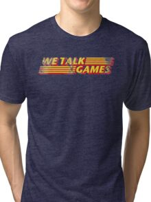 We Talk Games VPM Distressed Tri-blend T-Shirt