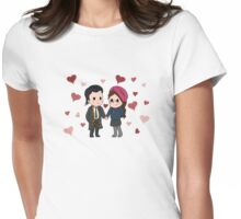 A Tasertricks Valentine Womens Fitted T-Shirt
