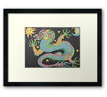 Feng Shui Dragon Framed Print