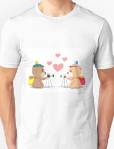 Bear lover. Unisex T-Shirt