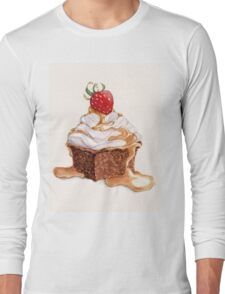 Cupcake Long Sleeve T-Shirt