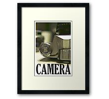 Vintage SLR Film Camera Framed Print