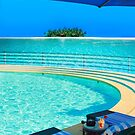 The Maldives - romantic atoll island paradise with luxury resort  by Bruno Beach