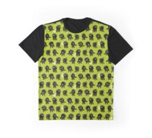 Black cute octopuses. Graphic T-Shirt