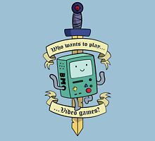 Beemo - Wanna Play Video Games? T-Shirt