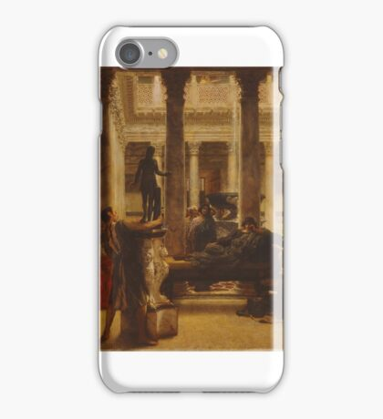 by Lawrence Alma-Tadema iPhone Case/Skin