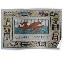Cymru, Wales Poster
