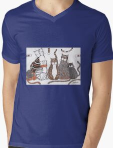 Purrfection Mens V-Neck T-Shirt