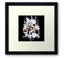 A splash of tiger Framed Print