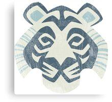 Animal Rainbow White Tiger Canvas Print