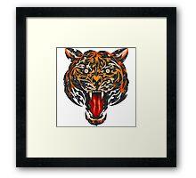 Biomech Tiger Framed Print