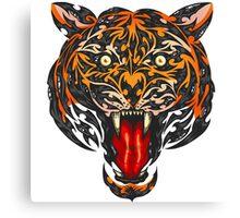 Biomech Tiger Canvas Print
