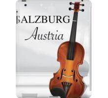 Vienna Austria Violin travel poster iPad Case/Skin