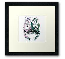 black tiger Framed Print