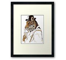 Clockwork Tiger Framed Print