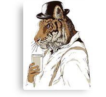 Clockwork Tiger Canvas Print