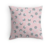 Spotty Diva Throw Pillow