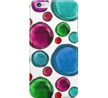 Colored balls iPhone Case/Skin