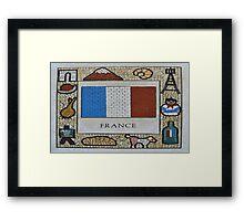 France Framed Print
