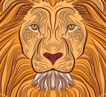 Lion Blazon Sticker