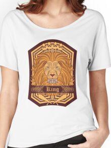 Lion Blazon Women's Relaxed Fit T-Shirt