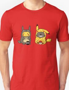 totoro and pikachu T-Shirt
