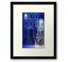 Blue Serenade Framed Print