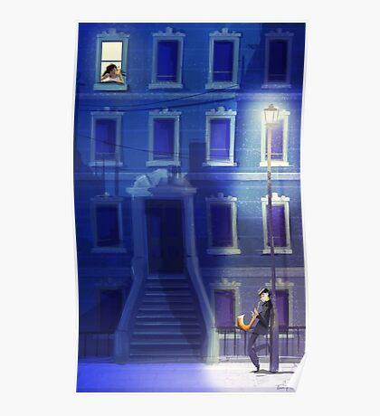 Blue Serenade Poster