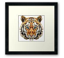 Painted Tiger Framed Print