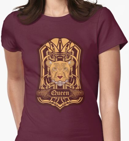 Lioness Blazon Womens Fitted T-Shirt