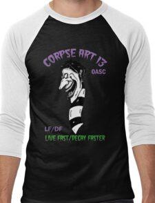 The Worm LFDF Purple/Green Men's Baseball ¾ T-Shirt