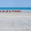 Morning Walk on Cable Beach by Natalie Ord