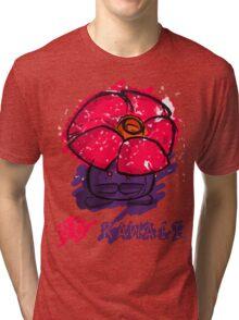 Adorable Messy Vileplume Tri-blend T-Shirt