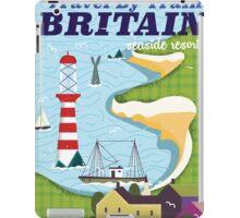 Britain vintage train vacation poster iPad Case/Skin