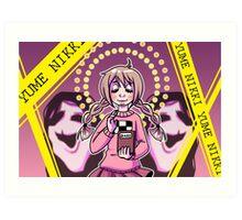 Yume Nikki - Madotsuki and Uboa Art Print