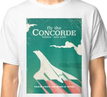 Concorde Vintage Holiday poster  Classic T-Shirt