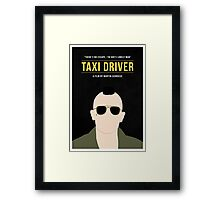 Taxi Driver film poster Framed Print