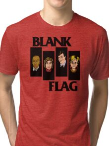 BLANK FLAG  ( Strangers With Candy ) Tri-blend T-Shirt