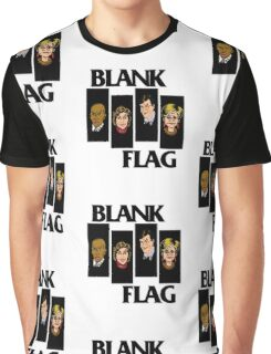 BLANK FLAG  ( Strangers With Candy ) Graphic T-Shirt