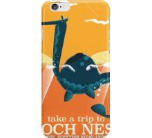 Loch Ness Scotland highlands vintage monster Poster iPhone Case/Skin