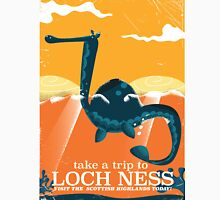 Loch Ness Scotland highlands vintage monster Poster Classic T-Shirt