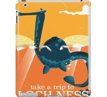 Loch Ness Scotland highlands vintage monster Poster iPad Case/Skin